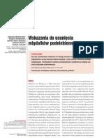 dr_Mrowka - Wskazania do usunięcia migdałków podniebiennych [06_WPK_mrowka]