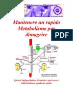 corsa e metabolismo