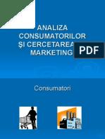 MM Prezentarea 2_Analiza Consumat_Cercet Mkt