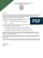 2013 RPYBSL Registration Form