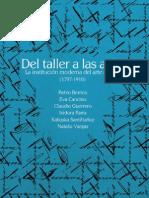 Del Taller a Las Aulas-Estudios de Arte