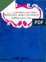 Frederico Garcia Lorca - Don Cristobita ile Dona Rositanın Acıklı Güldürüsü [MGB 00045]