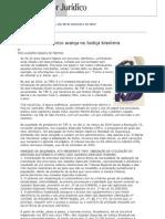 Conjur - O processo eletrônico avança na Justiça brasileira.pdf