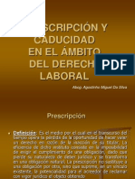 prescripción y caducidad modificado.ppt