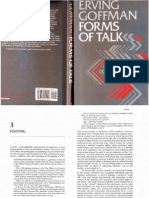 GOFFMAN, Erving. Forms of Talk