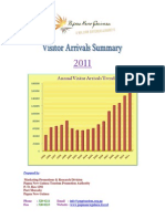 2011 Visitor Arrivals Report