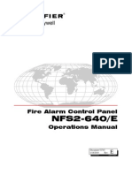 NFS2-640 Operations Manual