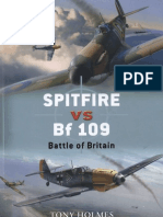 Spitfire Vs Bf 109 Battle of Britain (Osprey Duel 5)