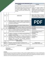 CRONOGRAMA DE DIDÁCTICA  ANTE EL TERCER MILENIO Y LAS TIC 2013