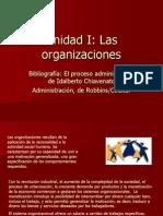 Unidad I - Organizaciones