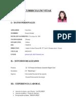 Curriculum Vitae Noemi