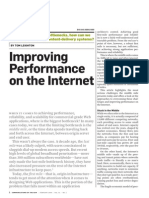Improving Performance on the Internet