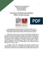 Convocatoria Certamen de Redacción Nilita Vientos Gaston 2013