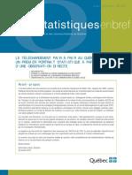 Tétu, M., Bellavance, G. Téléchargement P2P au Québec