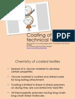 Coating of Textiles