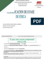 FISICA PLANIFICACION