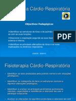 Aula Teórica Cárdio respiratória