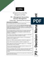 decision management