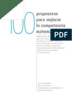 100 Propuestas Mejorar Competencia Matematica Santillana