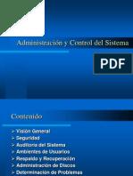 Administración y Control del Sistema - Septiembre 2004