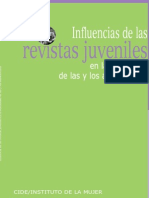 Influencia Revistas Juveniles