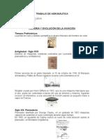 Historia y Evolucion de La Aviacion