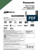 Panasonic BMR-EX93C (Mode d'Emploi)