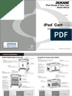 User Manual for Dukane Ipad cart