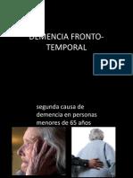 Demencia Fronto Temporal