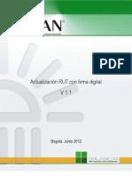 Actualizacion RUT Confirma 2012