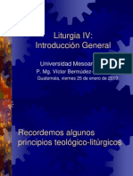 UMES Liturgia IV 01 Sentido Liturgia