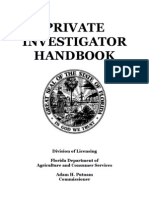 Private Investigator Handbook
