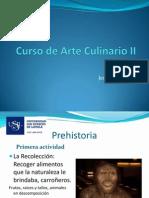 Arte Culinario II Sesion 1