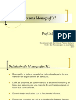 2007 Cmo Hacer Una Monografa 25007