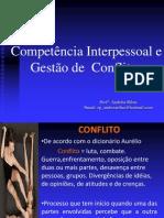 Competência Interpessoal e Gestão de Conflitos-Andréia Ribas