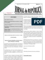 (2009-09-15) diploma ministerial 199-09 (fixa número de sucos e aldeias)