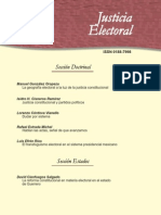 Justicia Electoral Tercera Epoca No 3 2009
