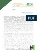 El Modelo Humanista Integral-Dto.apoyo1