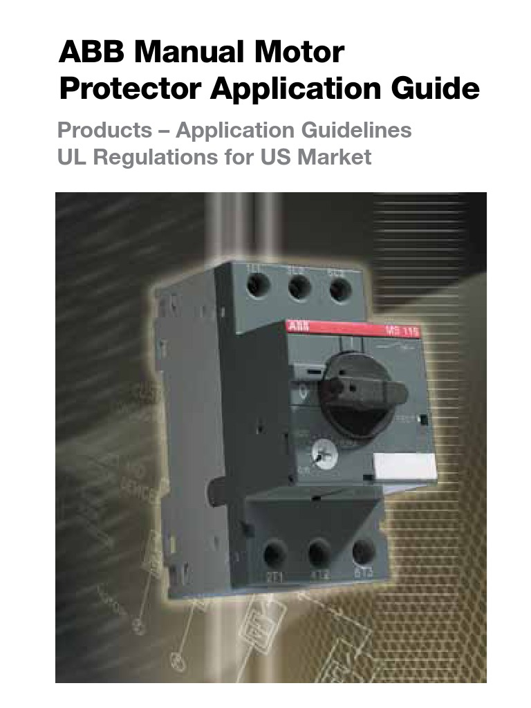 Abb motor protection relay fuse electrical for Abb motor protection relay catalogue