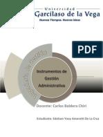 Instrumentos d Gestion Administrativa
