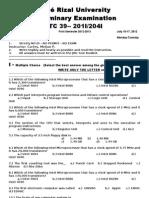 MELJUN CORTES Prelim Exam ITC39