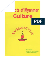 Myanmar Culture By Tin Mg Oo