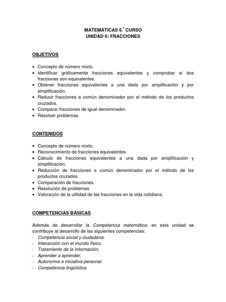 Increíble Reducción De Fracciones Pdf Hoja De Trabajo Patrón - hoja ...