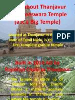 Brihadeeshvara Temple