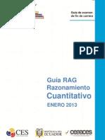 RAG Razonamiento Cuantitativo 24-1-2013