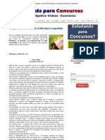 [Português Concurso]_ 35 Questões com Gabarito Estilo Banca Cespe_Unb