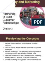 Chapter 2 - Partnering to Build Customer Relationships