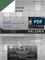 Analisis Acciones Colombia 1 Semana Febrero