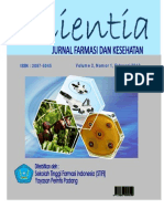 Jurnal Scientia Vol.2 No.1 Februri 2012