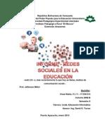 Informe Redes Sociales